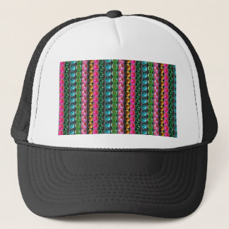 SPARKLE Gems Jewels Graphic decorative pattern gif Trucker Hat