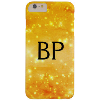 sparkle glamour monogram sprinkle barely there iPhone 6 plus case