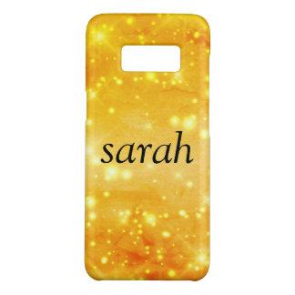 sparkle glamour monogram sprinkle Case-Mate samsung galaxy s8 case