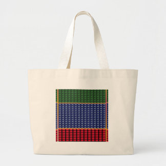 Sparkle Glitter Digital Blue Red Green Button GIFT Canvas Bag
