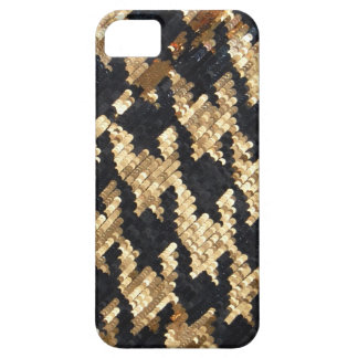 Sparkle Glitter Gold Bling iPhone 5 Cover