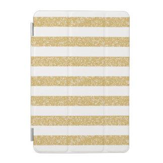 Sparkle Glitter Look Stripes iPad Mini Cover