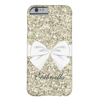 Sparkle Glitter With Girly Big Bow Phone Case