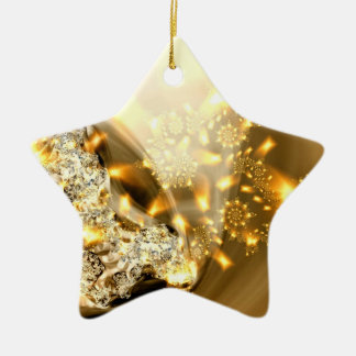 """Sparkle """"Gold and Silver"""" Ornament"""
