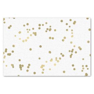 Sparkle Gold Confetti Tissue Paper