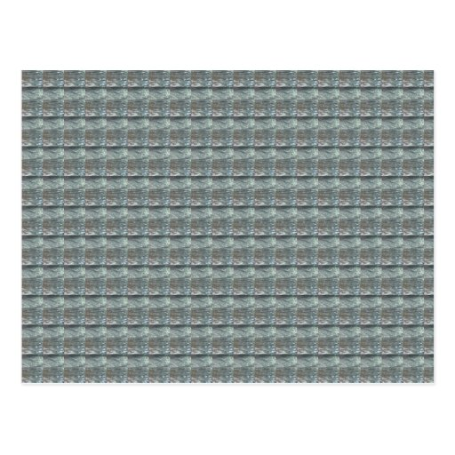 Sparkle GREY Gray Water Green Pattern Graphic Post Card