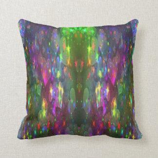 sparkle hearts throw pillow