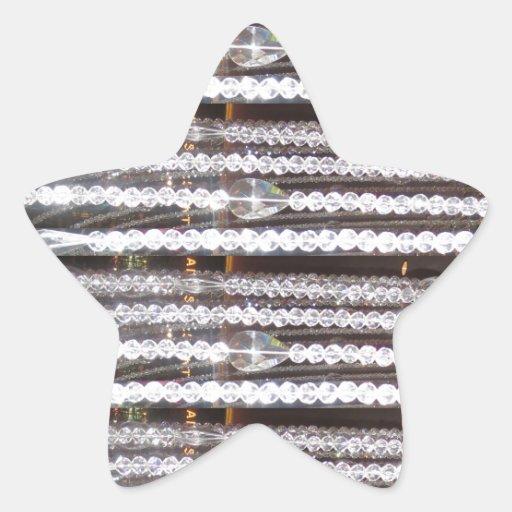 SPARKLE Jewel STRINGS pattern NavinJOSHI NVN101 Star Sticker