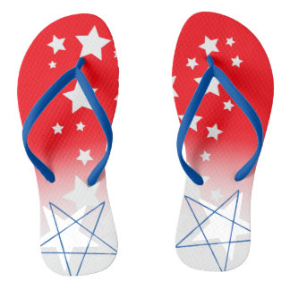 Sparkle like the 4th of July! Flip Flops