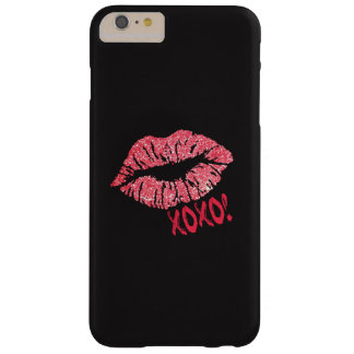 Sparkle Lips Kiss XOXO Iphone Case