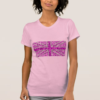 Sparkle Look UK Pink t-shirt ladies petite pink