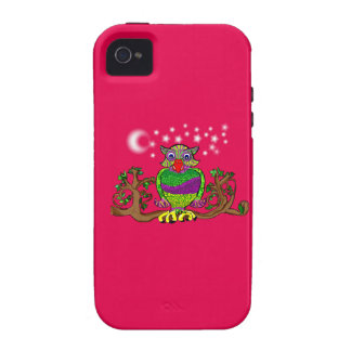 Sparkle Owl Vibe iPhone 4 Cover