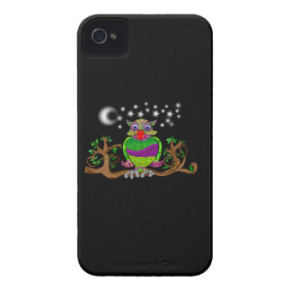 Sparkle Owl Case-Mate iPhone 4 Cases