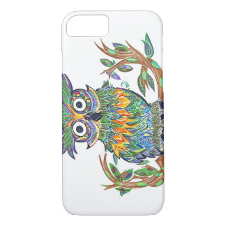 Sparkle Owl iPhone 8/7 Case