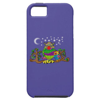 Sparkle Owl with Sparkle Baby iPhone 5 Covers