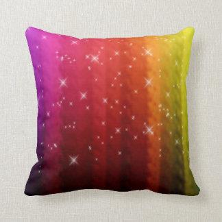 Sparkle Rainbow Pillow