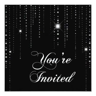 Sparkle & Shine Faux Sequin : Invitation