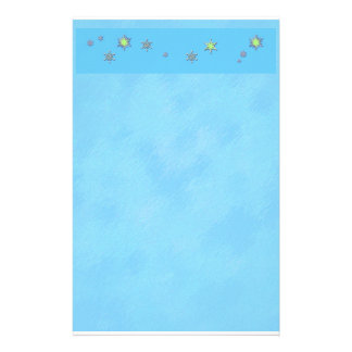 Sparkle Snowflakes in Winter Stationery