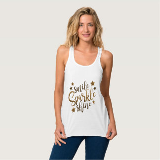 Sparkle tank tops
