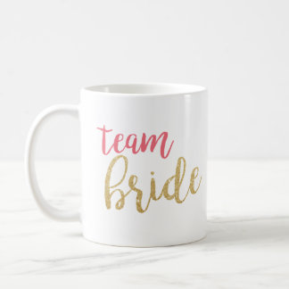 Sparkle Team Bride Mug