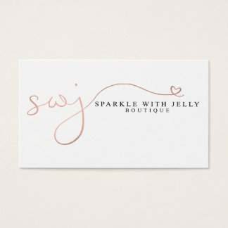 Sparkle With Jelly Business Cards