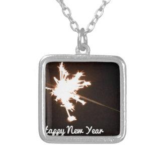 Sparkler Silver Plated Necklace