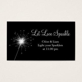 Sparkler Tag Business Card
