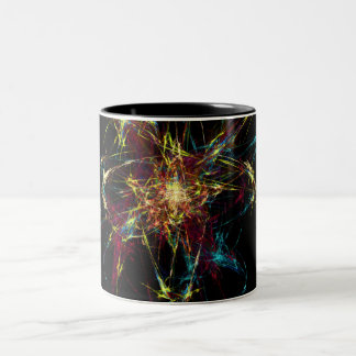 Sparkler Two-Tone Coffee Mug