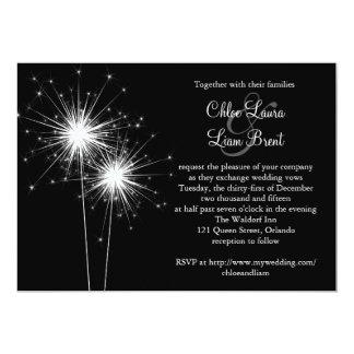 Sparkler Wedding Invitation 2