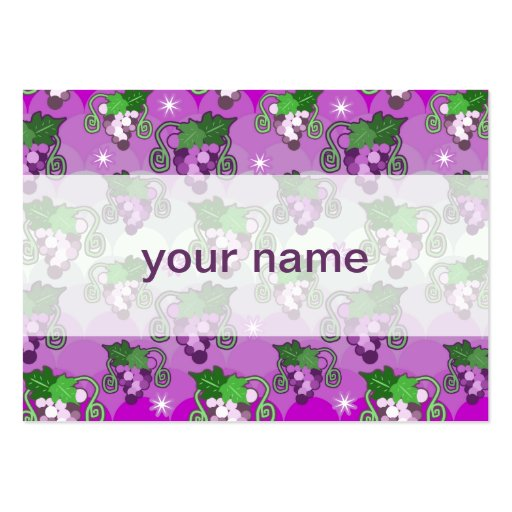 Sparkles and Grabes Scalloped Pattern Business Card Template