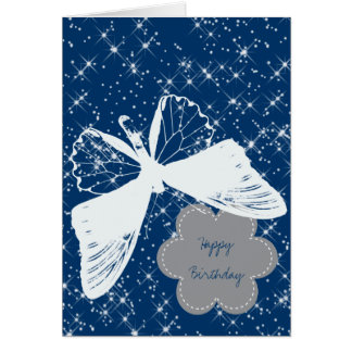 Sparkles Butterfly Card
