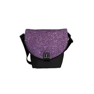Sparkles & Glitter Messenger Bag