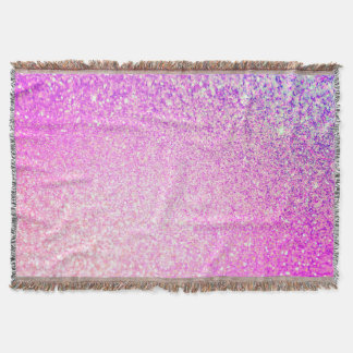 Sparkley Style Glitter Throw