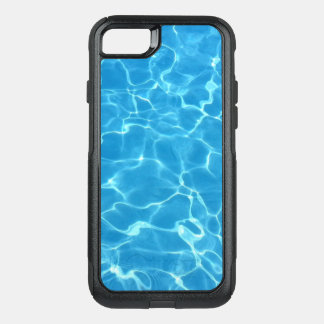 Sparkling Blue Swimming Pool Blue Water OtterBox Commuter iPhone 8/7 Case