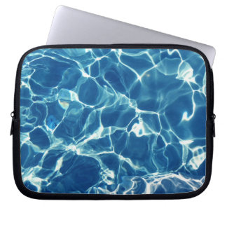 Sparkling Blue Water Computer Sleeve