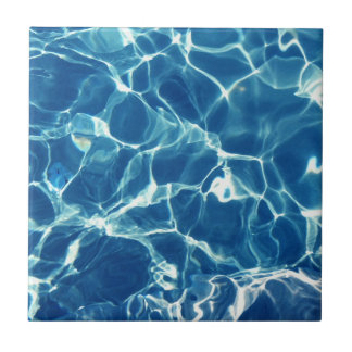 Sparkling Blue Water Tile