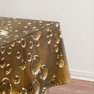 Sparkling Bubbles Water Drops Tablecloth