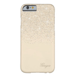 Sparkling Champagne and Glitter Barely There iPhone 6 Case