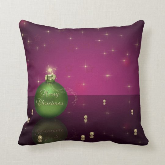 Sparkling Christmas Ornament - Pillow