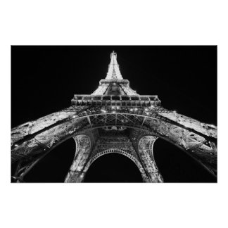 Sparkling Eiffel Tower Poster