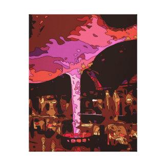 Sparkling Five Star restaurant in Vegas Canvas Prints