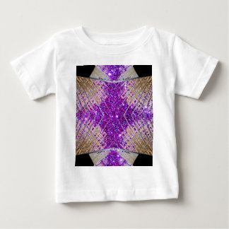 Sparkling Futuristic Abstract Designer Baby Tshirt