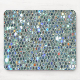 Sparkling Glittery Glitzy Bling Mouse Pad