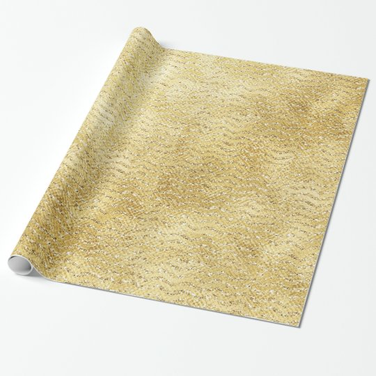 Sparkling Gold Gift Wrap