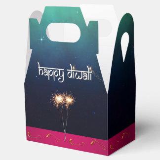 Sparkling Happy Diwali - Favor Box Gable