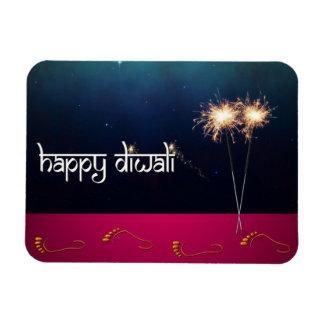 Sparkling Happy Diwali - Flexible Magnet