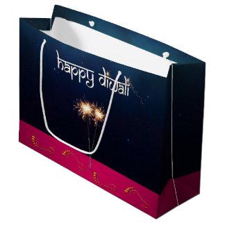 Sparkling Happy Diwali - Large Gift Bag