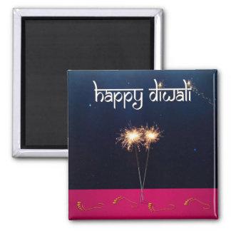 Sparkling Happy Diwali - Magnet