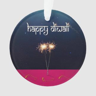 Sparkling Happy Diwali - Ornament