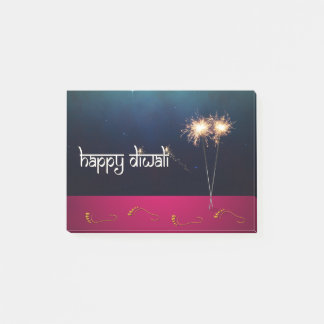 Sparkling Happy Diwali - Post-it® Notes